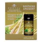 Essenza Essential Oil, Lemongrass & Basil, 15ml