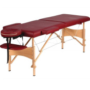 BNFUSA SPMSGTB2 Portable Massage Table With Adjustable Face Cradle & Height