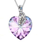 """Sivery """"Blessed Love"""" Pendant Fashion Necklace with Crystal from , Jewellery for Women"""