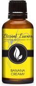 Banana Creamy Premium Grade Fragrance Oil - Scented Oil - 30ml