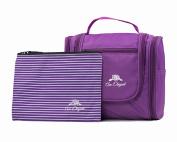 Premium Cosmetic Bag By AmElegant - Spacious Women And Men Toiletry Bag - Makeup Organiser And Beauty Product Organiser