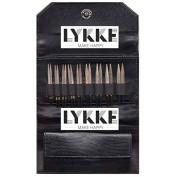 Lykke 8.9cm Driftwood Interchangeable Gift Set in Black Faux Leather Pouch