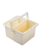 MEEDEN Art Supply Large Paint Brush Washer for Watercolour Acrylic Oil Painting Holder with Handle