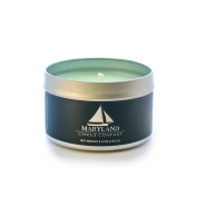 Maryland Candle Company All Natural Soy Wax Aromatherapy Scented Candle, Eucalyptus Spearmint, 160ml