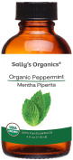 120ml Organic Peppermint Essential Oil - Pure Therapeutic Grade - Works Best for Aromatherapy, Natural Soap, Shampoo, Hair, Lotion, Bath Melts, Body, Mice Repellent, and Air Freshener