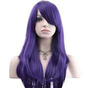 YOPO 70cm Wig Long Big Wavy Hair Women Cosplay Party Costume Wig