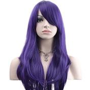 YOPO 70cm Wig Long Big Wavy Hair Women Cosplay Party Costume Wig