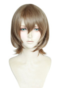 Topcosplay Synthetic Short Straight Hair Cosplay Costume Wig Goro