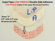 SuperTape Super Tape LOW PROFILE Shape A = 1 pack of 36 strips