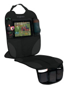 LulyBoo Auto Seat Protector - Durable Seat Protection For Infants and Toddlers - Includes Smart Device Window