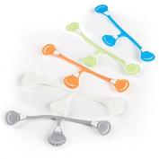 [Toddler Size 5-Pack] Snappi Cloth Nappy Fasteners - Replaces Nappy Pins - Use with Cloth Prefolds and Cloth Flats