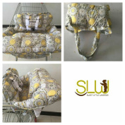 Sweet Little Whispers Extra padded, Shopping Cart Cover and High Chair Cover