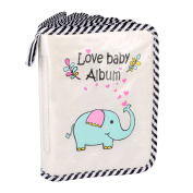 eBoot Baby Photo Album Love Baby Albums Photo Book My First Photo Album with Blue Elephant for Baby Memorable Moments