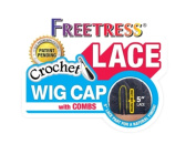 Freetress 13cm Lace Crochet Wig Cap w/ Combs