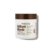 Brilliant Blonde Purple Mask 16.9 oz (500 ml). Tones & Conditions Blonde Hair. Low pH Formula, Sulphate Free, Gluten Free