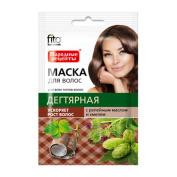 Fito Folk Recipes Natural Hair Mask Tar Burdock & Hops 30ml