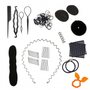 Mmrm Hair Styling Accessories Kit Set Hair Braid Tool for DIY