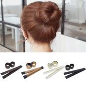 VANKER Bun Maker DIY Women Girls Perfect Hair Bun Maker Twist Donut Bun Hairstyle Tool