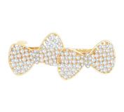Bridal Wedding Pearls Hair Pins Rhinestone Hair Barrettes Clips with French Clip Clasp