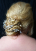 Rhinestone and Crystal Cluster Hair Pins - Set of 6