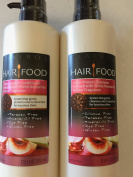 Hair Food Colour Protect Shampoo and Conditioner infused with White Nectarine & Pear Fragrance