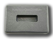 30ml Gold High Density Graphite Ingot Mould 30ml Silver KitKat Bar-Copper Made in the USA