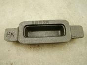 590ml Gold Mould Cast Iron Long & Deep KitKat Bar 300ml Silver -Copper Bar- Loaf