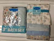 Bon Bene Puppy and Paws Bath Set Plus Blankets