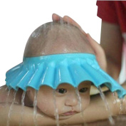VIASA Shower Bathing Bath Protect Adjust Soft Cap Hat For Baby
