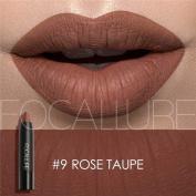 Lip Tint, Focallure Matte Lip Cryaon Long Lasting Velvet Matte Colour Pencil Lipstick Rose Taupe