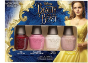Morgan Taylor Beauty And The Beast 4‑Piece Mini Nail Polish Set