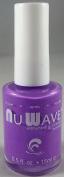 Nu Wave Antifungal & Antibacterial Enriched Nail Polish - Purple Rayna, 15ml