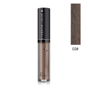 Hunputa One Step Long Lasting Tinted Eyebrow Gel Infused with Fibres for Thick and Full Brows