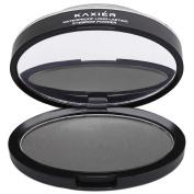 eshion 3 In 1 Waterproof Long-lasting Eyebrow Powder Makeup Eyebrow Stamp Kit Natural-looking Eyebrows Enhancer,Black grey