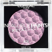 L'Oreal Infallible Paints Metallics Eyeshadow, 406 Violet Lustre