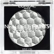 L'Oreal Infallible Paints Metallics Eyeshadow, Aluminium Foil