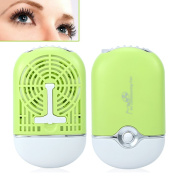 Portable Cooling USB Mini Fan Air Conditioning Blower Eyelash Extension Glue Quick Dry Tool