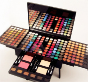 FantasyDay Pro 180 Colours Eyeshadows All In One Ultimate Colour Makeup Kit Cosmetic Contouring Palette Combination with Face Powder, Blusher and Eyebrow powder - Ideal for Professional and Daily Use