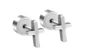 Earrings for Men Silver Cross Punk Mens Stud Earring