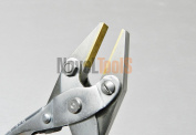 Brass Jaw Flat Parallel Pliers 125mm Non Marring soft Jaws for Jewellery Crafts (E6) NOVELTOOLS