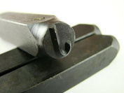"""1cm Letter """"J"""" Stamp-Punch-Hand-Tool-Gold Bar-Silver-Trailer-Metal-Leather"""