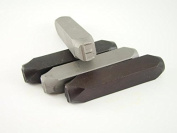 """1.3cm Letter """"E"""" Stamp-Punch-Hand-Tool-Gold Bar-Silver-Trailer-Metal-Leather"""