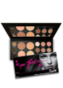 RUDE In Your Face 3-in-1 Palette Eyebrow contour Eyeshadow