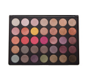 Zelia Milan MIAMI 35E Rainbow Warm and Cool Colour Highly Pigmented Shimmer Waterproof Cruelty Free Pro Eyeshadow Palette