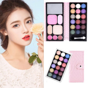 OMfeng 25 Colours Makeup Palette Cosmetic Eyeshadow Blush Lip Gloss Powder