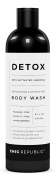 Natural Body Wash with Activated Coconut Charcoal, Exfoliating Wash White Lava, & Aloe Vera Plant Extract, as a Detox & Hypoallergenic Body Wash, for Skin Rejuvenation, Sensitive Skin, Women Men