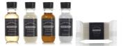 Beekman 1802 Dispensary Travel Set Shampoo, Conditioner, Lotion, Body Wash, Soap