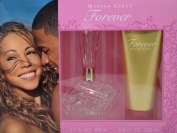Mariah Carey Forever 2-Piece Gift Set for Women Includes 100ml Perfume Eau De Parfum Spray and 200ml Luminous Body Lotion by Mariah Carey