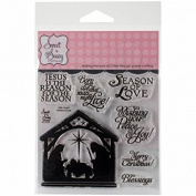Sweet 'N Sassy Clear Stamps 10cm x 10cm -Season Of Love