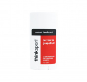thinksport Deodorant, Red/White/Black, Currant/Grapefruit, 90ml